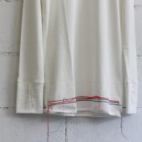 RYU chain st. long t-shirt col:white