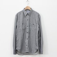 DAILY WARDROBE INDUSTRY (デイリーワードローブインダストリー) 1st STANDARD SHIRT(OPEN) col:HICKORY