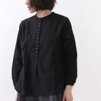 jujudhau (ズーズーダウ) 12BUTTON WOOL BLACK