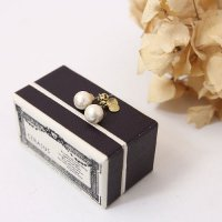 CERASUS (ケラスス) Cotton pearlピアス
