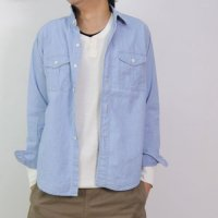 DAILY WARDROBE INDUSTRY (デイリーワードローブインダストリー) BOY SCOUT SHIRT CHAMBRAY