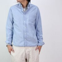 DAILY WARDROBE INDUSTRY (デイリーワードローブインダストリー) B.D SHIRT OPEN CHAMBRAY