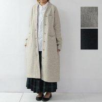 evameva (エヴァムエヴァ) press wool coat