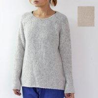 evameva (エヴァムエヴァ) alpaca wool pullover