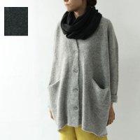evameva (エヴァムエヴァ) loop yarn wide cardigan