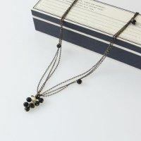 CERASUS (ケラスス) Chain tassel 3連ネックレス