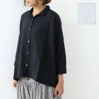 evameva (エヴァムエヴァ) square shirt