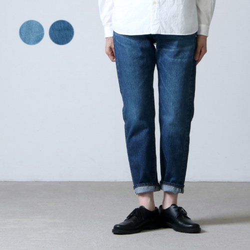 Ordinary Fits (オーディナリーフィッツ) 5POCKET ANKLE DENIM used / 5ポケット アンクルデニム ユーズド for Women