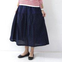 NATIC (ナティック) 花柄刺繍スカート