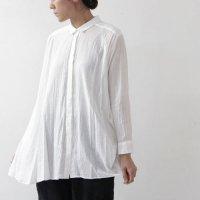 mizuiro ind (ミズイロインド) アシンメトリーシャツ