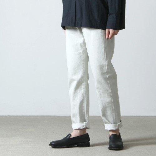 Ordinary Fits (オーディナリーフィッツ) 5POCKET ANKLE DENIM white one wash / 5ポケット アンクルデニム ホワイト