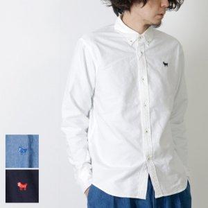 weac. (ウィーク) パグちゃんシャツ(釦ダウン) for Man