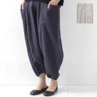evameva (エヴァムエヴァ) work sarrouel easy pants