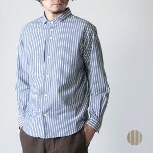 [THANK SOLD] nisica (ニシカ) ストライプスモールカラーシャツ