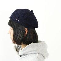 NATIC (ナティック) インディゴ天竺ベレー帽