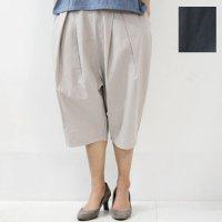 evameva (エヴァムエヴァ) peg top cropped pants