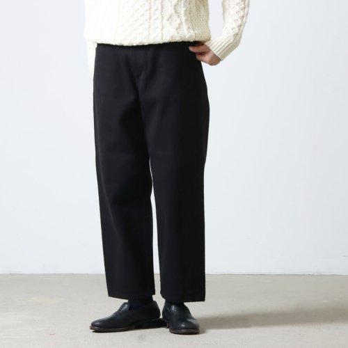 YAECA (ヤエカ) DENIM PANTS STRAIGHT 12.5oz / デニムパンツワイドストレート12.5オンス