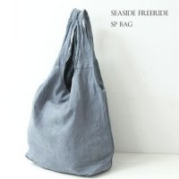 SEASIDE FREERIDE (シーサイドフリーライド) SP BAG SUEDE BLUE GRAY