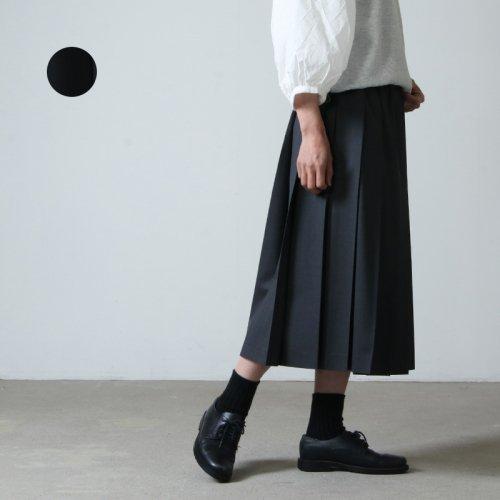 Charpentier de Vaisseau (シャルパンティエ ドゥ ヴェッソ) Pleated Skirt Summer wool / プリーツスカート サマーウール