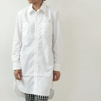 DAILY WARDROBE INDUSTRY (デイリーワードローブインダストリー) 1st STANDARD SHIRT LONG WHITE