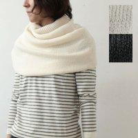 evameva (エヴァムエヴァ) Silkwool neck warmer