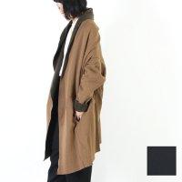 【30% OFF】 mizuiro ind (ミズイロインド) バックボアドレープカーディガン