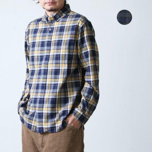 [THANK SOLD] nisica (ニシカ) ネルチェックボタンダウンシャツ