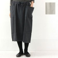 evameva (エヴァムエヴァ) Cotton Yak Skirt