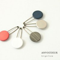 ANVOCOEUR (アンヴォクール) Kilt pin Circle