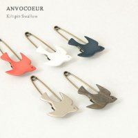 ANVOCOEUR (アンヴォクール) Kilt pin Swallow