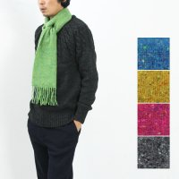 【50% OFF】 FOXFORD (フォックスフォード) Lambswool&Cashimere Scarf