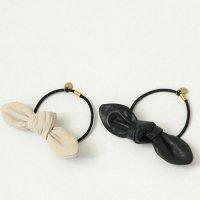 CERASUS (ケラスス) Leather ribbonヘアゴム