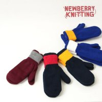 NEWBERRY KNITTING (ニューベリーニッティング) SCHOOL COLOR ACRYLIC MITTEN W/LNG
