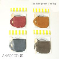 ANVOCOEUR (アンヴォクール) Tea time pouch