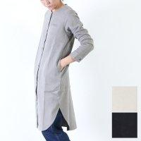 evameva (エヴァムエヴァ) raising cotton linen shirt tunic / コットンリネンショートチュニック