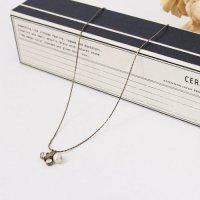CERASUS (ケラスス) Cotton pearlスワロネックレス
