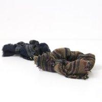 CERASUS (ケラスス) Wool linenチェックシュシュ