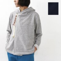 kha:ki (カーキ) ZIP UP SWEAT C/D