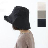 evameva (エヴァムエヴァ) Cotton linen hat