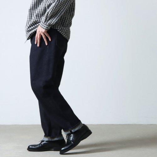 YAECA (ヤエカ) 10-14W DENIM PANTS WIDE TAPERED / デニムパンツ ワイドテーパード