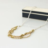 CERASUS (ケラスス) Wood&Brass String ネックレス