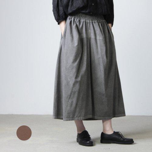 FACTORY (ファクトリー) ペルー綿ギャザースカート