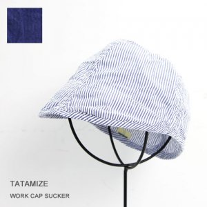 TATAMIZE (タタミゼ) WORK CAP SUCKER