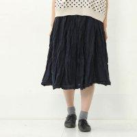 mao made (マオメイド) 50コットンローンリンクルスカート