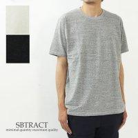 SBTRACT (サブトラクト) UNEVEN C/N TEE