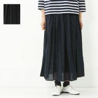 mizuiro ind (ミズイロインド) プリーツギャザースカート