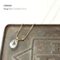 CERASUS (ケラスス) Rouge Cut クリスタルネックレス