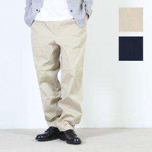 YAECA (ヤエカ) TAC TAPERED CHINO CLOTH PANTS / タックテーパードチノパンツ
