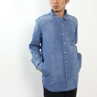 ONES STROKE (ワンズストローク) Denim Long Shirt