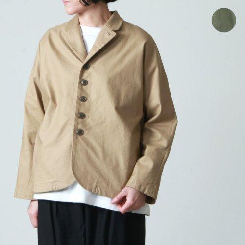 style + confort (スティールエコンフォール) リネンツイル起毛ジャケット
